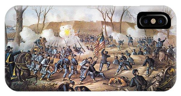 Allison iPhone Case - Battle Of Fort Donelson by Granger