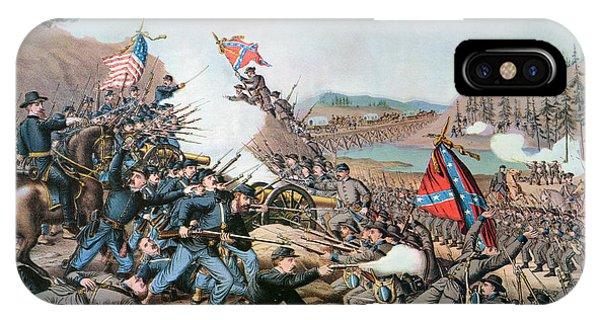 Allison iPhone Case - Battle Of Franklin, 1864 by Granger