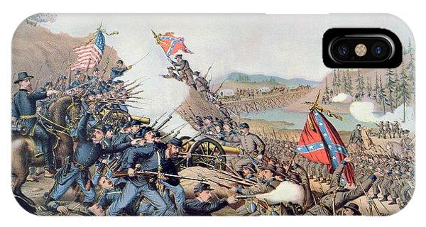 Allison iPhone Case - Battle Of Franklin November 30th 1864 by American School