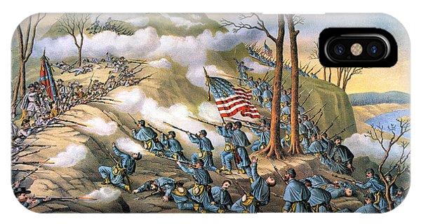 Allison iPhone Case - Battle Of Lookout Mount by Granger