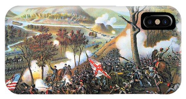 Allison iPhone Case - Battle Of Missionary Ridge by Granger