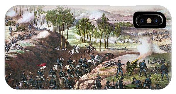 Allison iPhone Case - Battle Of Resaca, 1864 by Granger
