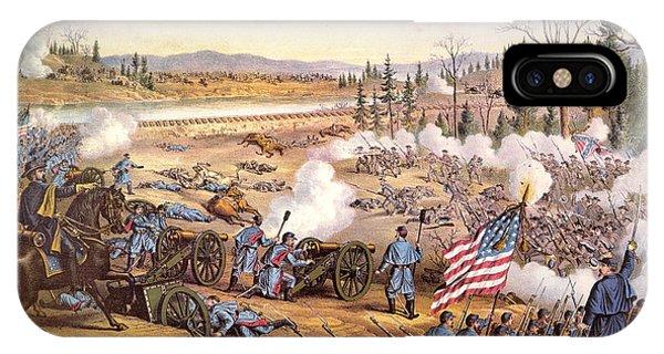 Allison iPhone Case - Battle Of Stones River, 1863 by Granger