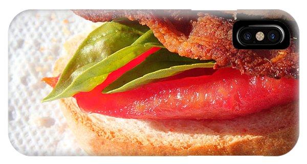 Bbt Bacon Basil Tomato IPhone Case