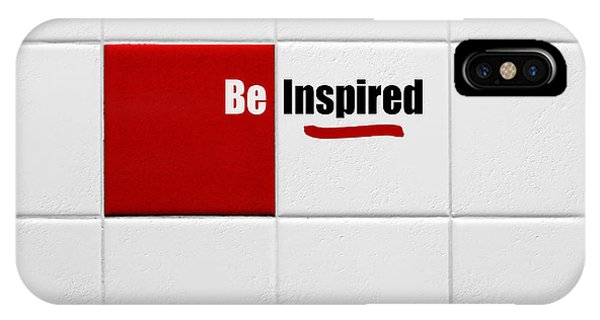Be Inspired Modern Style Red Tile IPhone Case