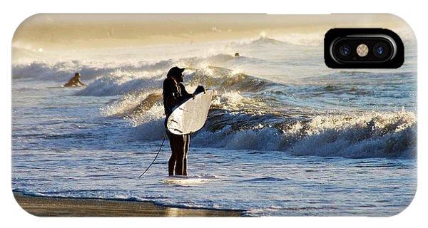 Beach Break Phone Case by Lennie Green