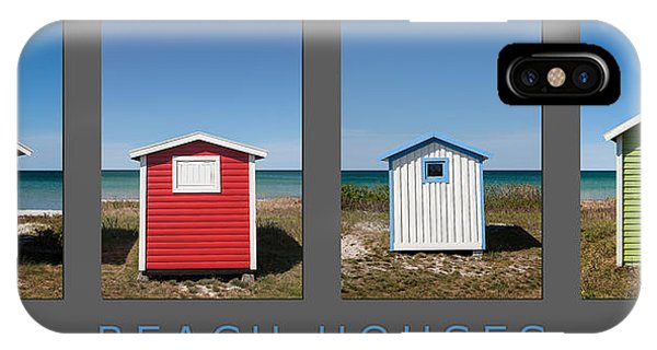 Beach Houses IPhone Case