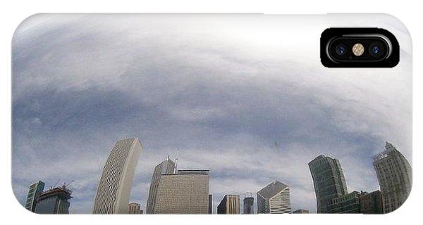 Bean Skyline IPhone Case