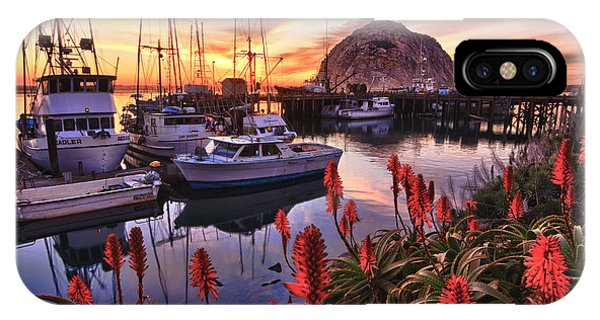 Beautiful Morro Bay IPhone Case