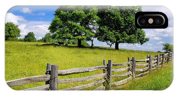 Beautiful Virginia Pasture IPhone Case
