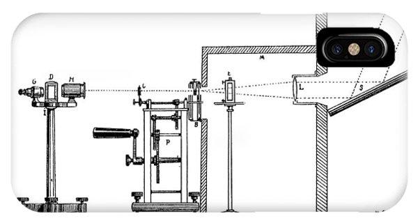 Becquerel Phosphoroscope, 19th Century Phone Case by