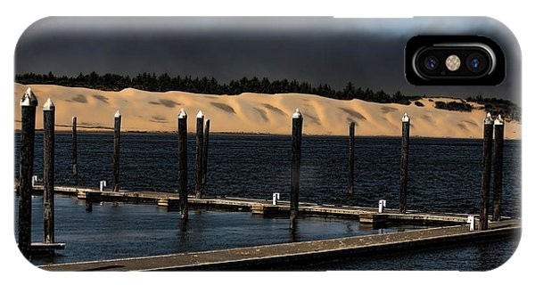 Oregon Sand Dunes iPhone Case - Before The Storm by Bonnie Bruno