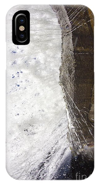 Bridal iPhone Case - Behind Bridal Veil Falls In Dupont State Park Nc by Dustin K Ryan