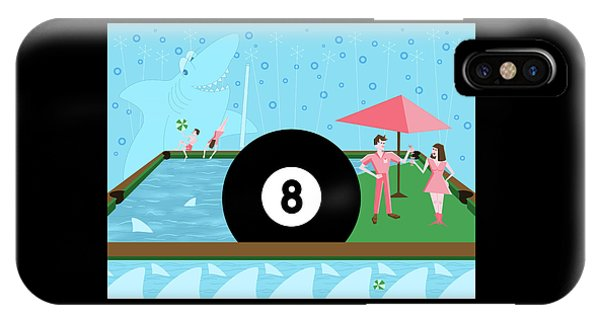 Behind The Eight Ball IPhone Case