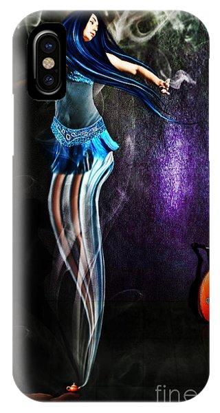 Belly Dance Genie Phone Case by Vidka Art