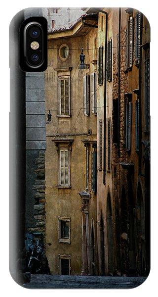 Bergamo Alley IPhone Case