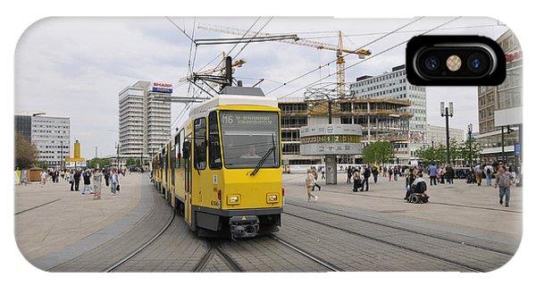Berlin Alexanderplatz Square IPhone Case