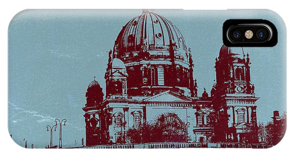Berlin iPhone Case - Berlin Cathedral by Naxart Studio