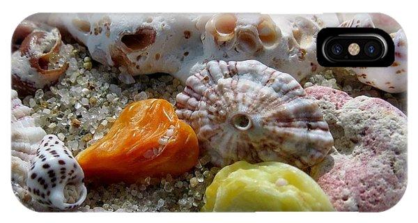 Bermuda Beach Shells IPhone Case