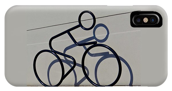 Bicycle Shadow IPhone Case