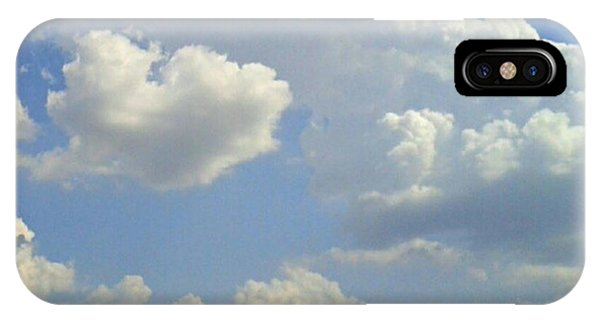 Big Bang What? #creation #clouds #sky Phone Case by Kel Hill