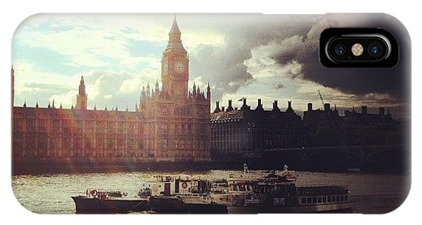 London iPhone Case - Big Ben by Samuel Gunnell