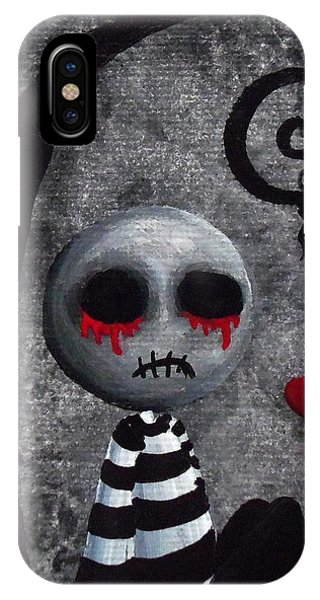 Big Juicy Tears Of Blood And Pain 2 IPhone Case