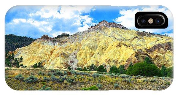 Big Rock Candy Mountain - Utah IPhone Case