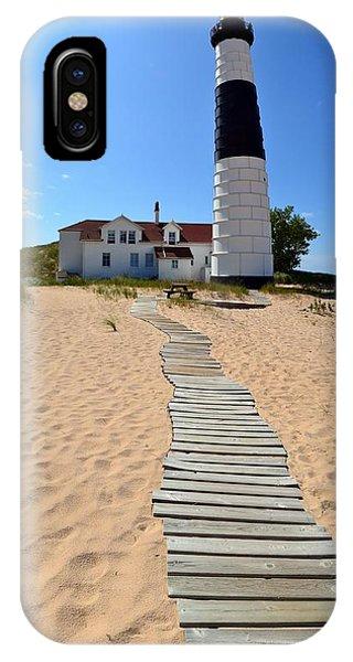 Big Sable Lighthouse At Ludington State Park IPhone Case