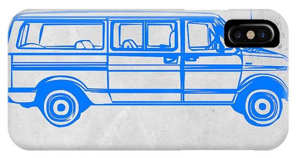 Classic Cars iPhone Case - Big Van by Naxart Studio
