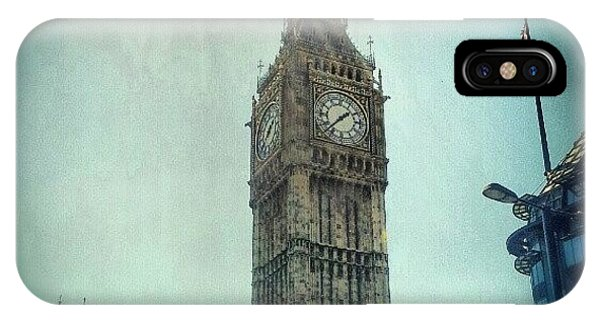 London iPhone Case - #bigben #uk #england #london #londoneye by Abdelrahman Alawwad