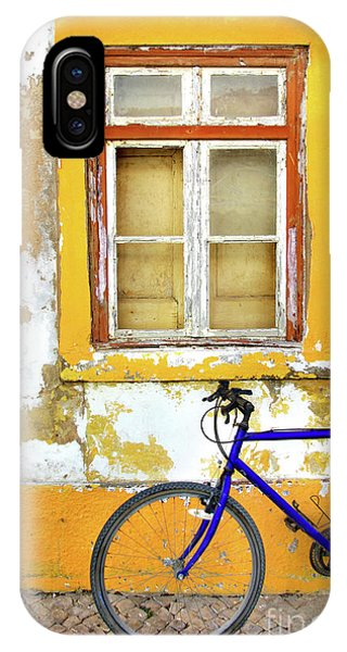 Bicycle iPhone X Case - Bike Window by Carlos Caetano