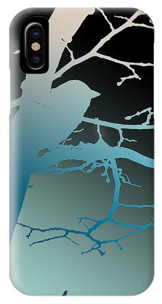 Bird At Twilight IPhone Case