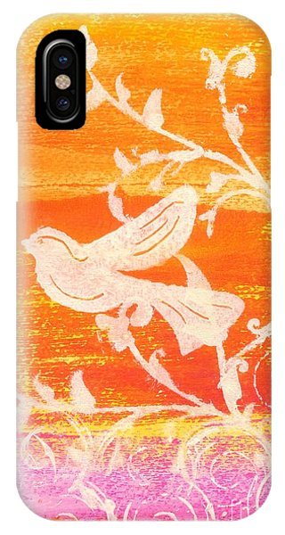 Bird In The Meadow IPhone Case