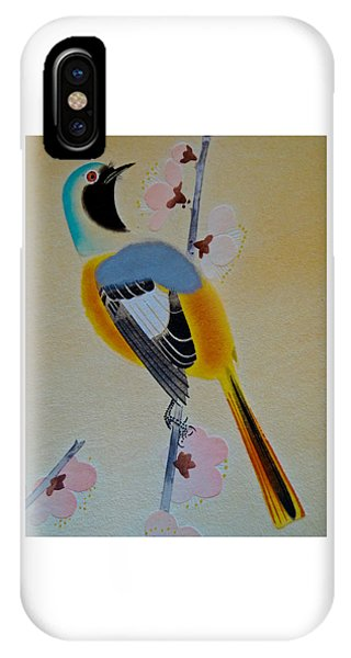 Bird Print IPhone Case