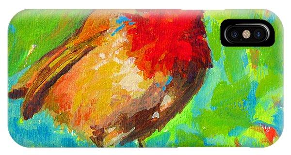 Birdie Bird - Robin IPhone Case