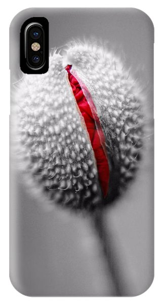 Birth Of A Poppy IPhone Case