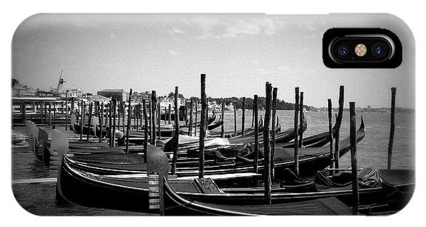 Black And White Gondolas IPhone Case