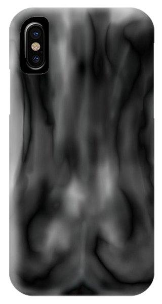 Black Back Phone Case by Mathieu Lalonde