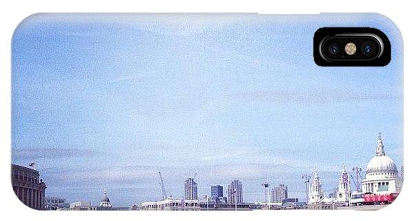 London Bridge iPhone Case - Black Friars Bridge by Maeve O Connell
