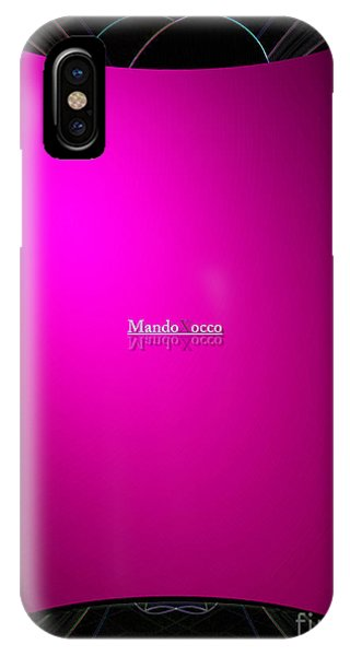 Black Pink IPhone Case