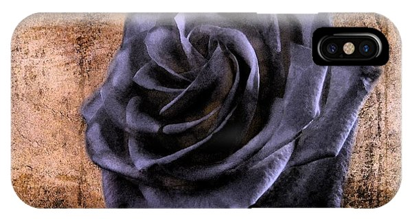 Black Rose Eternal   IPhone Case