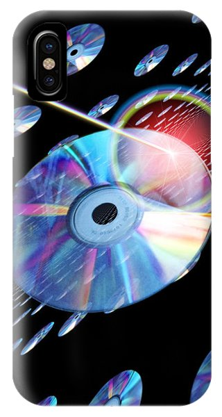 Blu-ray Discs Phone Case by Victor Habbick Visions