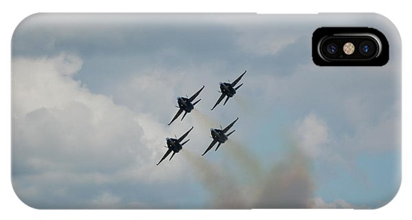 Blue Angels Roaring By IPhone Case