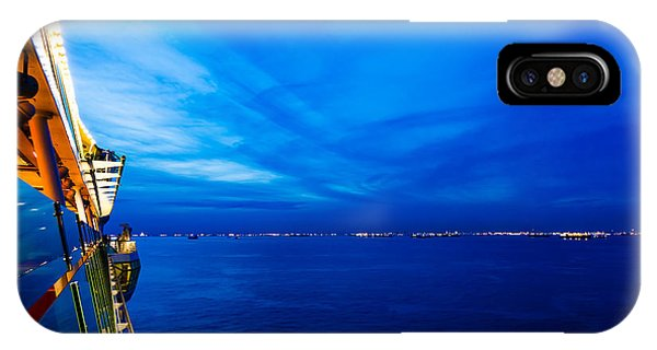 Blue At Sea IPhone Case
