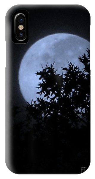 Blue August IPhone Case