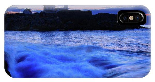 Navigation iPhone Case - Blue Dawn by Rick Berk