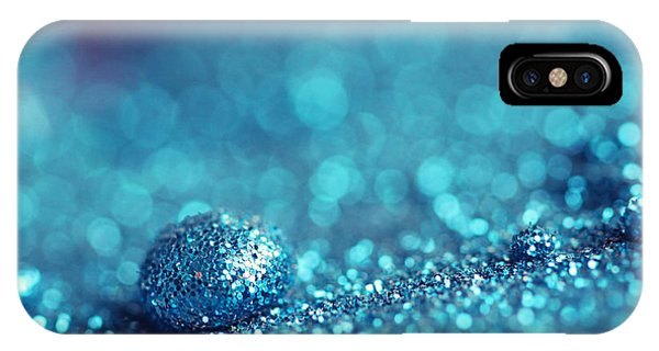 Blue Drop Phone Case by Amelia Matarazzo