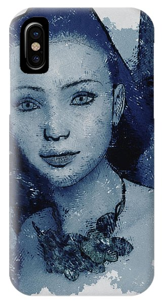 Blue Fae IPhone Case