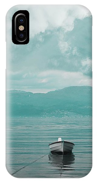 Blue Fjord IPhone Case